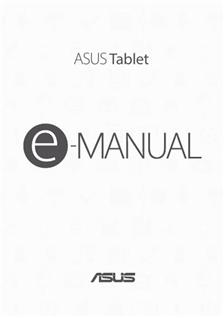 Asus Zenpad 10 (Z300M) manual