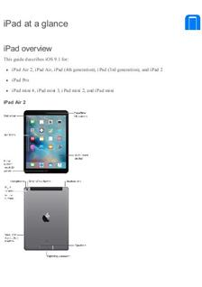 Apple iPad 2nd Generation manual