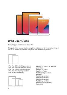 Apple iPad Pro 2nd Generation (12.9) manual