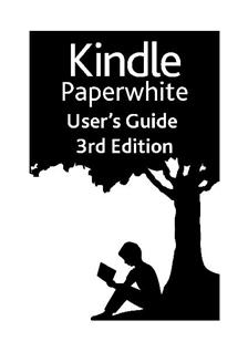 Amazon Kindle Paperwhite 3rd Edition