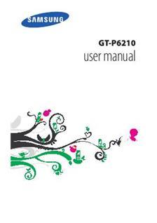 samsung galaxy tab a 7 manual