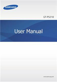 Samsung Galaxy Tab 3 manual