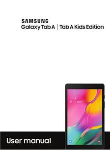 Samsung Galaxy Tab A Kids Edition manual
