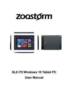 Zoostorm SL8 i75 Windows 10